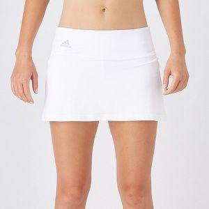 Adidas White Advantage Tennis Skirt